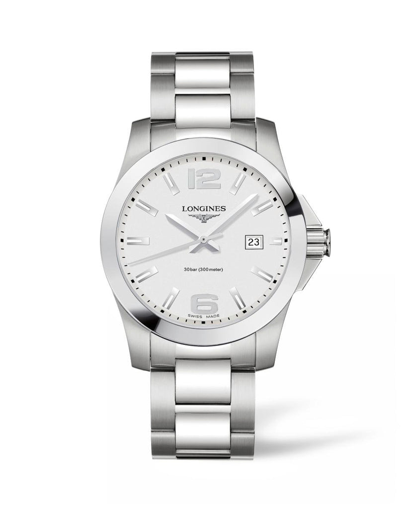 Longines L37594766 Quartz Mens Watch