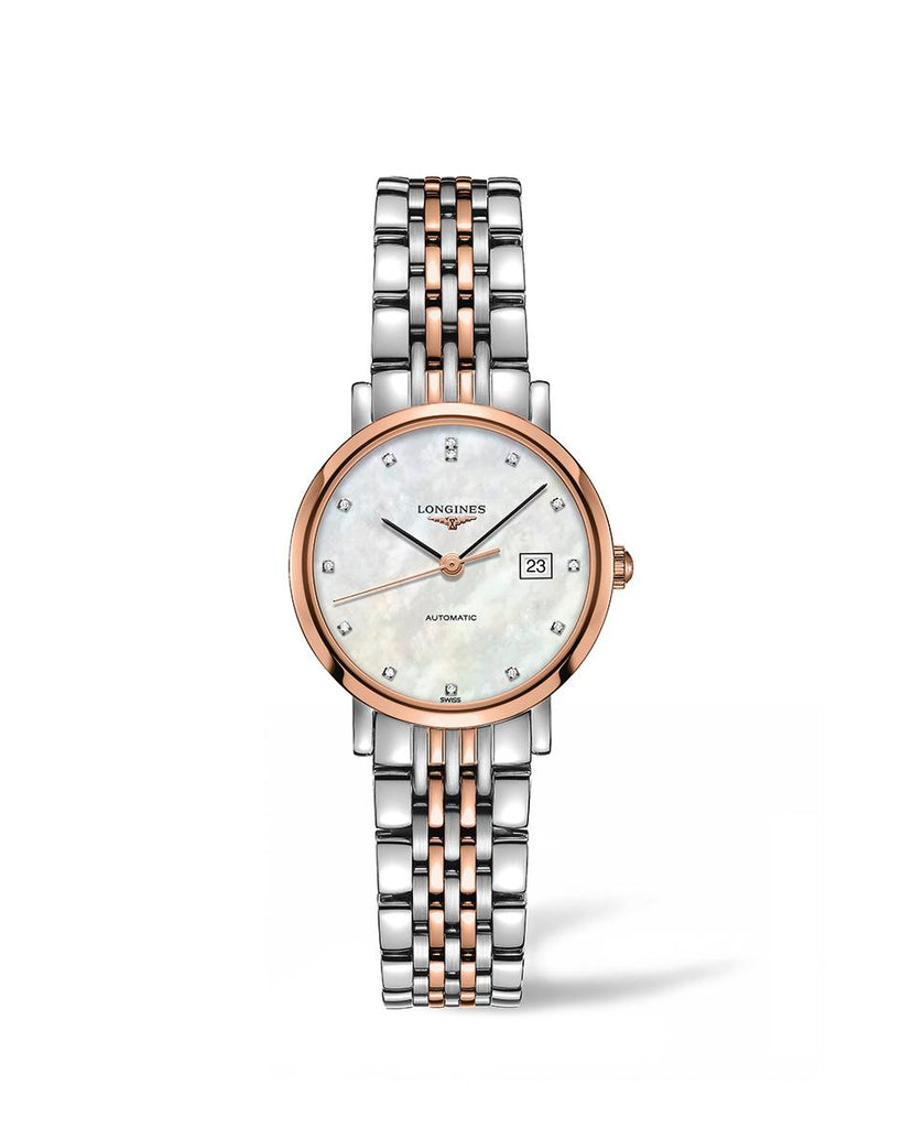 Longines L43105877 Elgant Collection Automatic Womens Watch