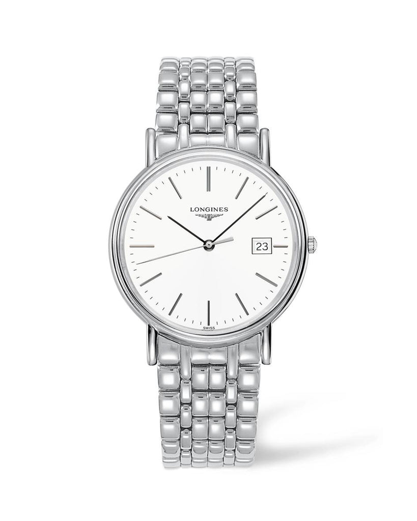 Longines L47904126 Presence Quartz Mens Watch