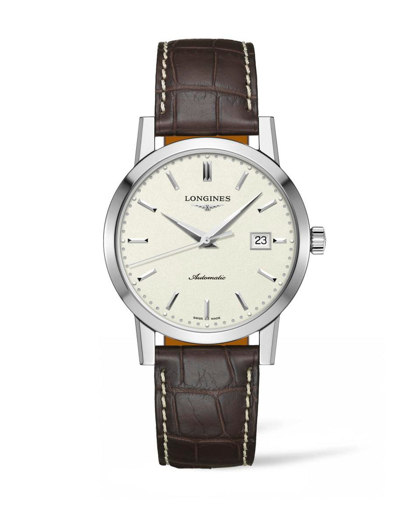 Longines L48254922 Heritage Automatic Mens Watch