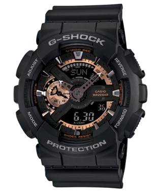 Casio G-Shock GA110RG-1A Quartz Mens Watch