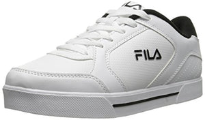 Fila Men's Orlando 4 Training Shoe, White/Black/Metallic Silver, 9.5 M US