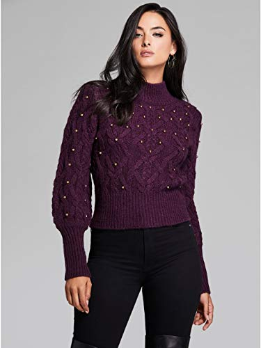 GUESS by Marciano Women's Pierre Beaded Sweater