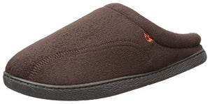 Dockers Men's Christopher, Easy-Off Roll Collar Clog Slipper, Brown, Large