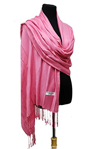 Fashion Secrets Solid Colors Pashmina Large Wrap Shawl Scarf Stole