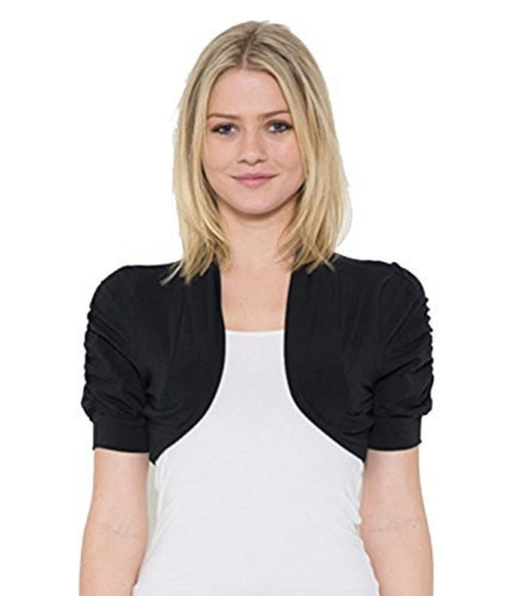 Fashion Secrets Juniors Bolero Shrug Short Cardigan in Colors - Fashion Secrets