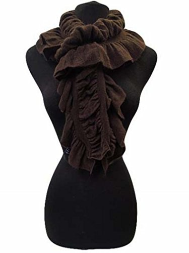 Fashion Secrets Women Cold Weather Neck Warmer Scarf Shawl Wrap Edgy Elastic