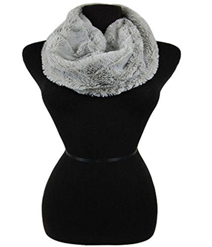 Fashion Scerets Faux Fur Infinity Cold Weather Scarf Neck Warmer