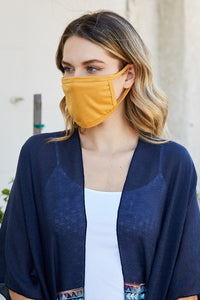 3 Pcs Fashion Face Cover Mouth Mask Unisex Washable Reusable Cotton