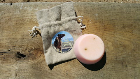Camel Milk Soap - Geranium Rose