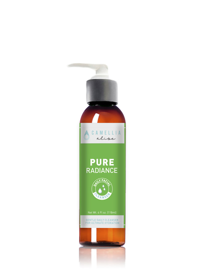 Our cucumber and chamomile Vegan formulated daily facial wash cleanses the skin  removing dirt, SPF, oil, makeup and sweat while leaving your skin feeling smooth and radiant. Free from Parabens, Gluten, and Sulfates.