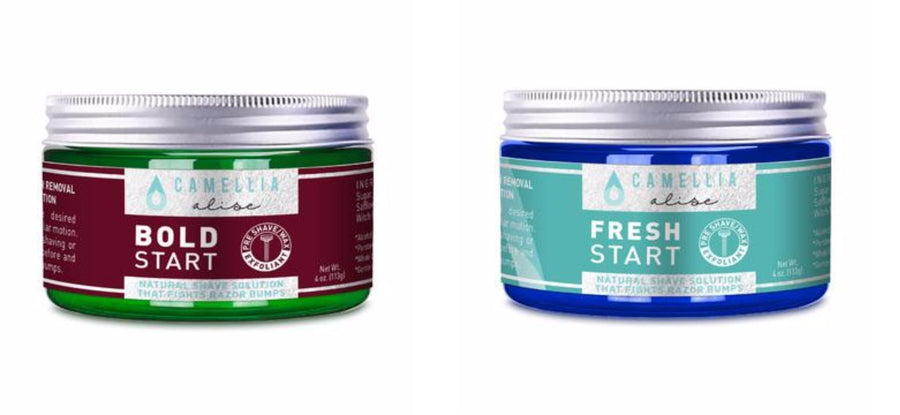 Pre-Shave Pre-Wax Scrub for Men and Women