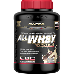 Allmax Nutrition AllWhey Gold 5Lbs Cookies & Cream