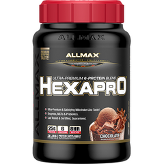 Allmax Nutrition HexaPro 3 Lbs Chocolate