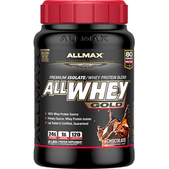 Allmax Nutrition AllWhey Gold 2Lbs Chocolate