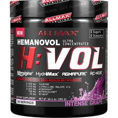 Allmax Nutrition HVOL 30 Servings Intense Grape