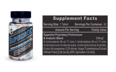 Hi-Tech Pharmaceuticals Superdrol 42ct