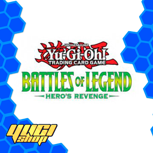 Battles of Legend Heroes Revenge | Yu-Gi-Oh! | Booster  Box | Yugi Shop TCG | Mexico