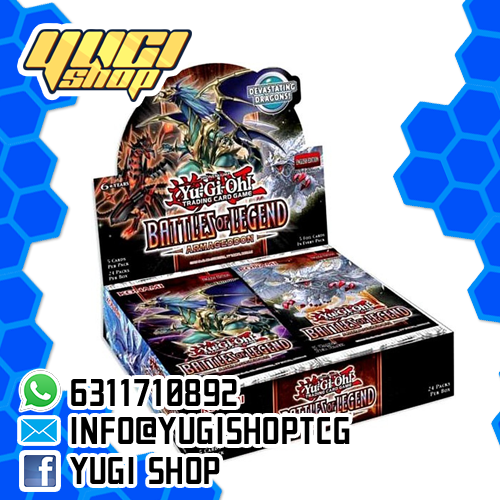 Battle of Legends Armaggedon | Yu-Gi-Oh! | Booster  Box | Yugi Shop TCG | Mexico