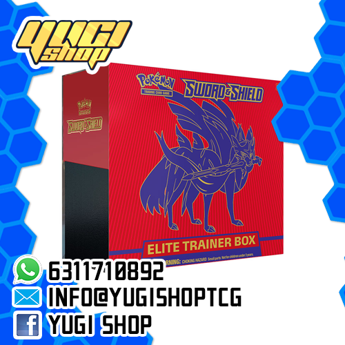 Sword & Shield Elite Trainer | Pokemon TCG | Yugi Shop TCG | Mexico