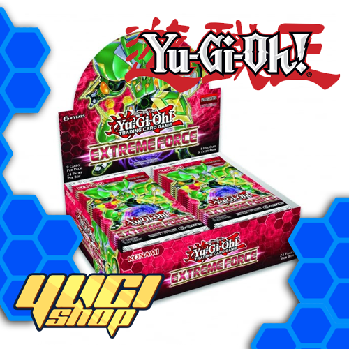Extreme Force | Yu-Gi-Oh! | Booster Box | Expansion | Yugi Shop TCG | Mexico