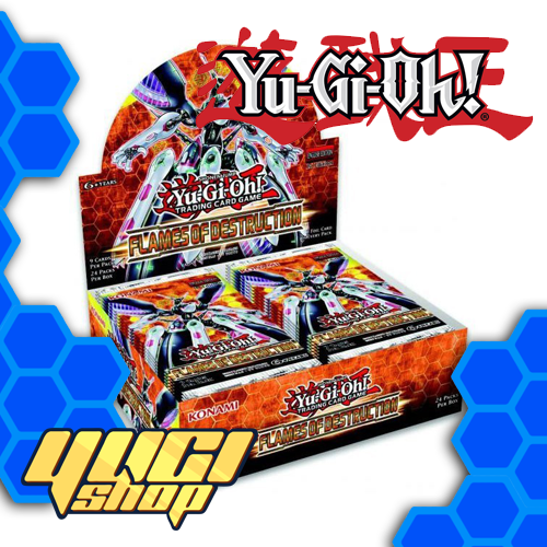Flames Of Destruction | Yu-Gi-Oh! | Booster Box | Expansion | Yugi Shop TCG | Mexico