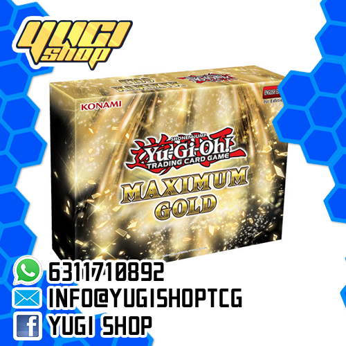 Maximum Gold | Yu-Gi-Oh! | Booster Box | Yugi Shop TCG | Mexico