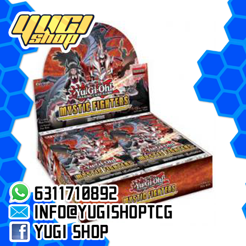 Mystic Fighters | Yu-Gi-Oh! | Booster  Box | Yugi Shop TCG | Mexico