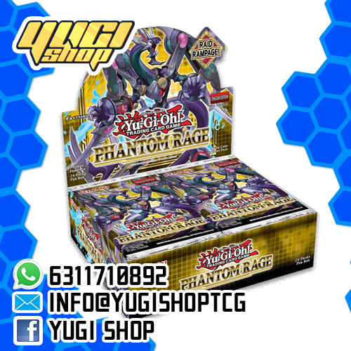 Phantom Rage | Yu-Gi-Oh! | Booster  Box | Yugi Shop TCG | Mexico