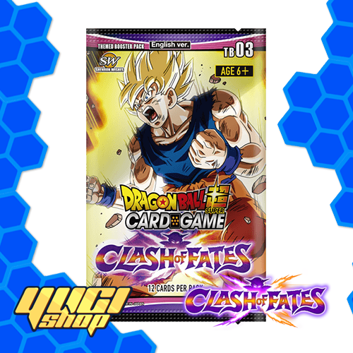 Clash of Fates | Dragon Ball Super Card Game | Booster Box | Yugi Shop TCG | Mexico