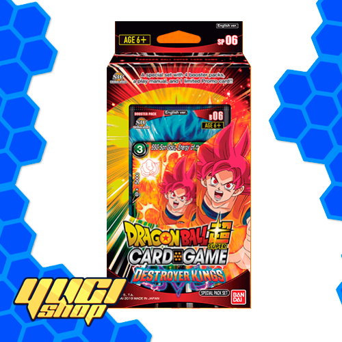 Destroyer Kings Special Pack | Dragon Ball Super Card Game | Booster Box | Set 6 | Yugi Shop TCG | Mexico