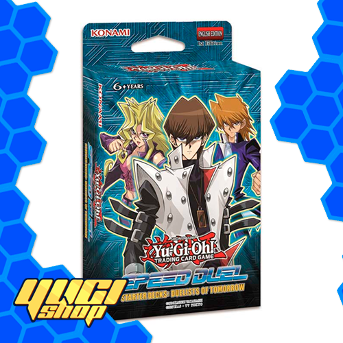 Speed Duel Starter Decks: Duelist of tomorrow | Yu-Gi-Oh! | Starter Deck | Yugi Shop TCG | Mexico
