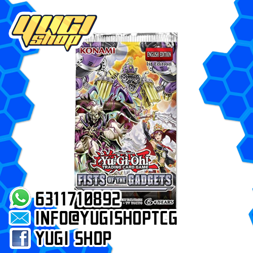 Fist of the gadgets| Yu-Gi-Oh! | Booster  Box | Yugi Shop TCG | Mexico