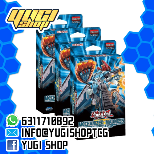 Mechanized Madness | Yu-Gi-Oh! | Yugi Shop TCG | Mexico