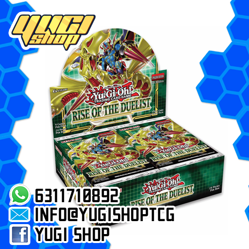 Rise of Duelist | Yu-Gi-Oh! | Booster Box | Yugi Shop TCG | Mexico