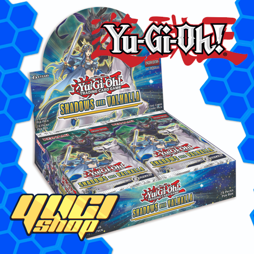 Shadows Over Valhalla | Yu-Gi-Oh! | Booster Box | Expansion | Yugi Shop TCG | Mexico