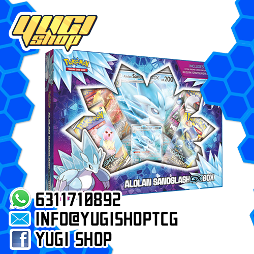 Alolan Sandslash Gx Box | Pokemon TCG | Yugi Shop TCG | Mexico
