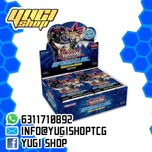 Speed Duels Trials of the Kingdom | Yu-Gi-Oh! | Booster  Box | Yugi Shop TCG | Mexico
