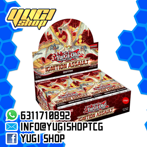 Ignition Assault | Yu-Gi-Oh! | Booster  Box | Yugi Shop TCG | Mexico