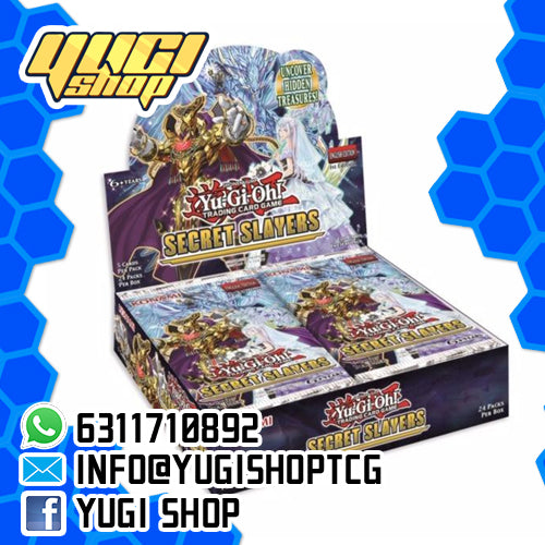 Secret Slayers | Yu-Gi-Oh! | Booster  Box | Yugi Shop TCG | Mexico