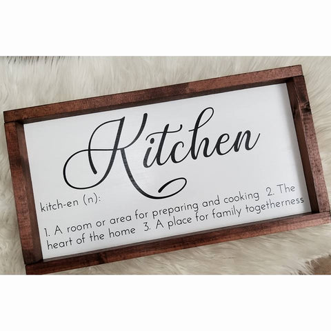 Kitchen - Sign