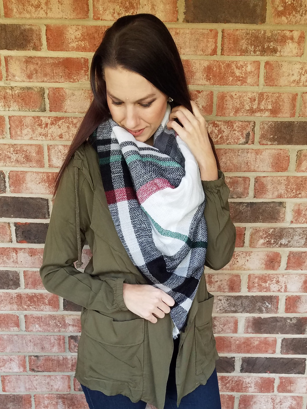 Blanket Scarf - The Holiday