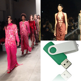 Fashion Show Videos Available On USB Drive
