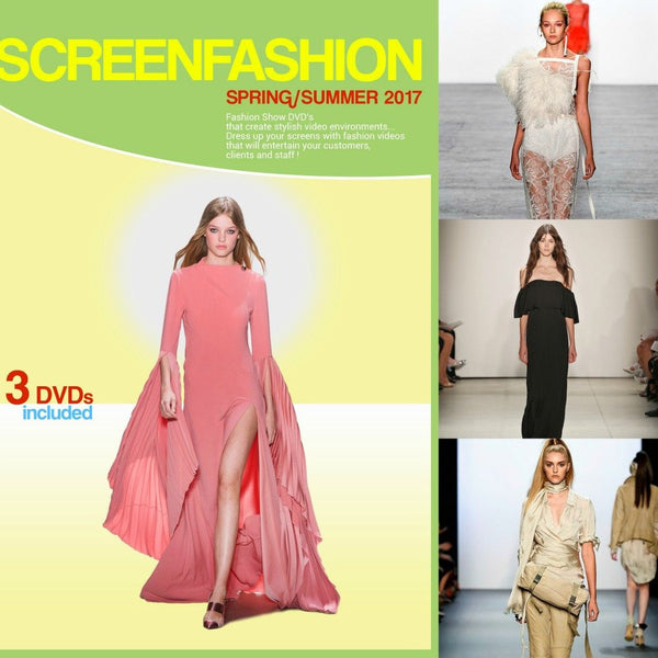 Screen Fashion Spring Summer 2017 DVDs Vidcat