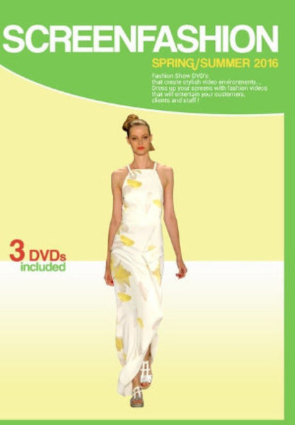 Spring Summer 2016 Fashion Show DVDs - VIDCAT