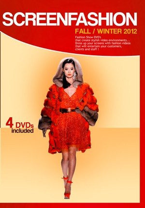 Fall Winter 2012 Fashion Shows: 4 DVDs - VIDCAT