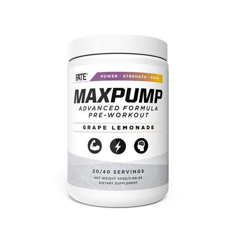 MaxPump Advanced Formula Pre-Workout
