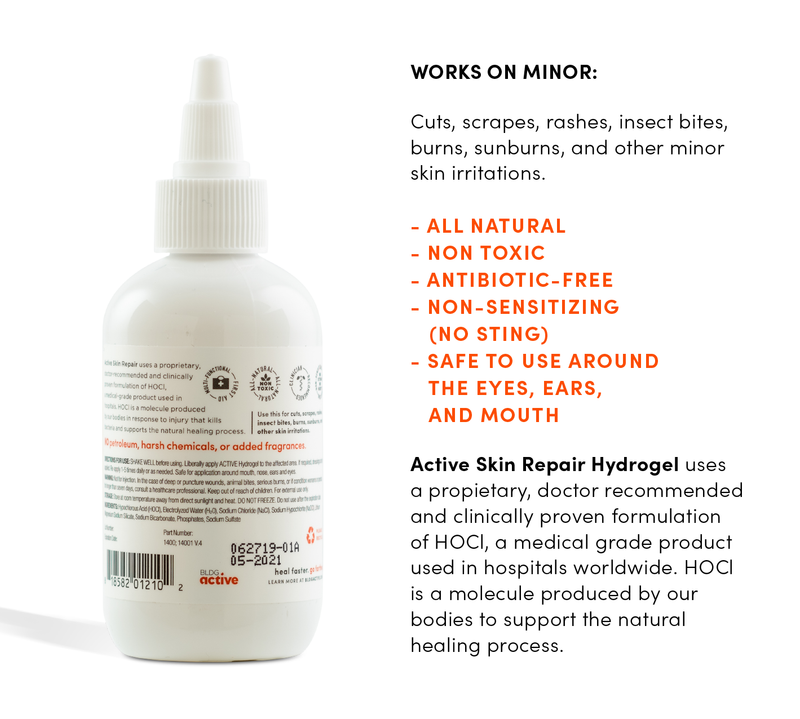 Active Skin Repair - Hydrogel - Phokus Research Group