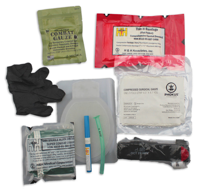 Advanced Vehicle Trauma Kit - Phokus Research Group
