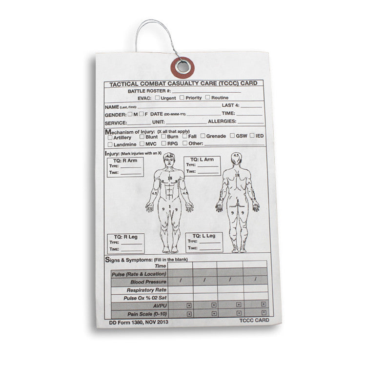 Casualty Card (Case of 20)